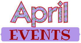april events for blog